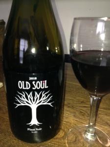 old soul - 2010 Pinot Noir