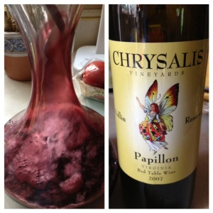2007 Chrysalis Papillon