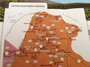 Loudon Wine Map